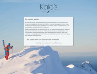 kalo.me screenshot