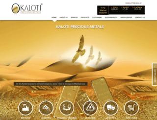 kalotico.com screenshot