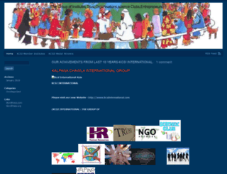 kalpanachawlainternationalgroup.wordpress.com screenshot