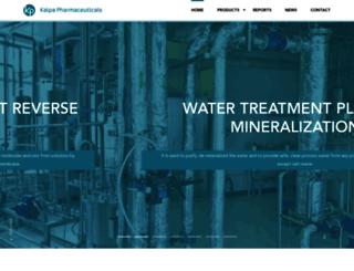 kalpapharmaceuticals.com screenshot