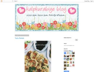kalpkurabiye.blogspot.com screenshot