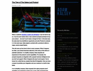 kalsey.com screenshot