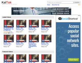 kaltakonline.com screenshot
