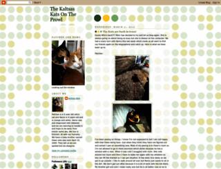 kaltsaskats.blogspot.com screenshot