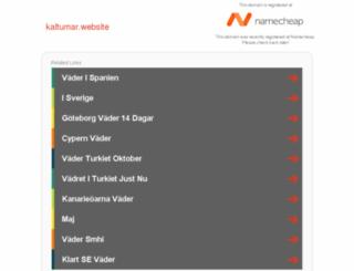 kaltumar.website screenshot
