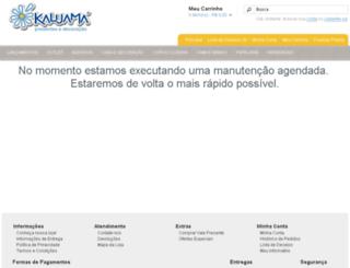kaluamapresentes.com.br screenshot
