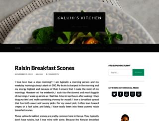 kaluhiskitchen.com screenshot