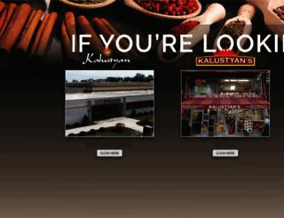 kalustyans.com screenshot