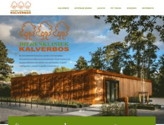 kalverbos.nl screenshot
