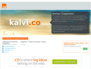kalvi.co screenshot