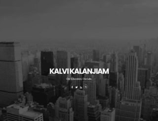 kalvikalanjiam.com screenshot