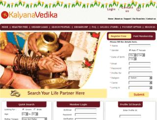 kalyanavedika.org screenshot