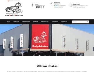 kalydautos.com screenshot