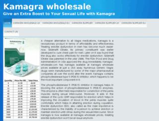 kamagra-wholesale.com screenshot