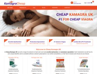 kamagracheap.com screenshot
