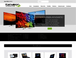 kamaleon.com.co screenshot