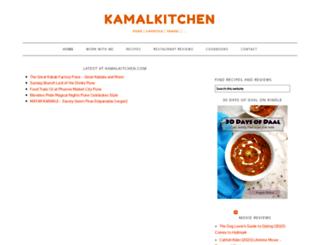 kamalkitchen.com screenshot