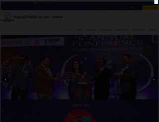 kamalpublicschool.com screenshot