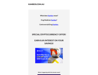 kambos.com.au screenshot