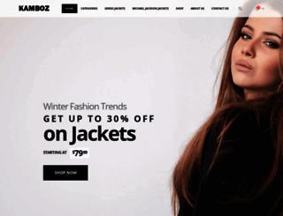 kamboz.com screenshot