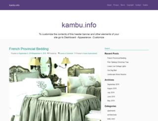 kambu.info screenshot