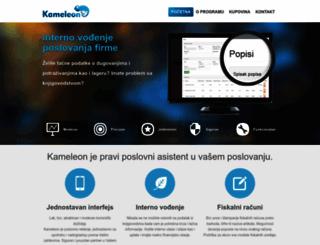 kameleon.rs screenshot