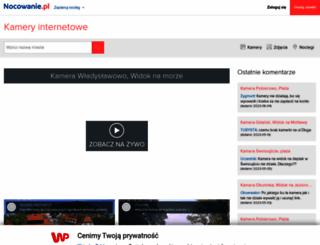 kamery-internetowe.pl screenshot