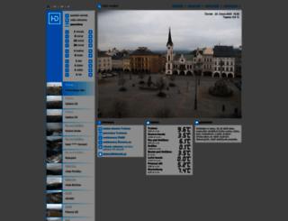 kamery.humlnet.cz screenshot