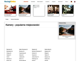 kamery.noclegi-online.pl screenshot