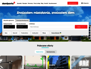 kamien-pomorski.domiporta.pl screenshot