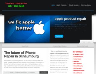 kamienshop.com screenshot