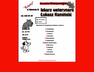 kamilecznica.jcom.pl screenshot