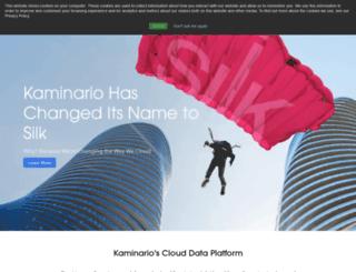 kaminario.com screenshot