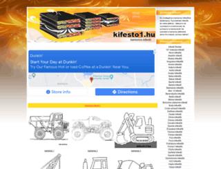 kamionos-kifestok.kifesto1.hu screenshot