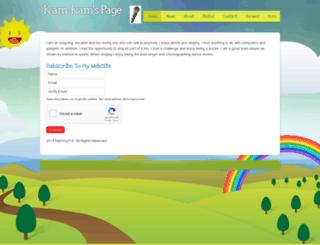 kammydrules.webs.com screenshot