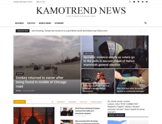 kamotrendnews.com screenshot