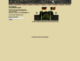 kamp-vogelsang.be screenshot