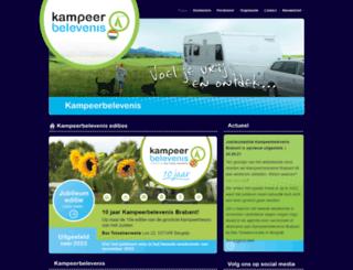 kampeerbelevenis.nl screenshot