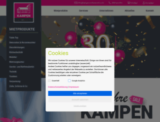 kampen-rentanevent.com screenshot