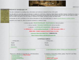 kampfgruppe144.com screenshot