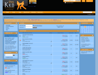 kampfkunst-board.info screenshot