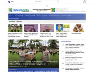 kampung-media.com screenshot
