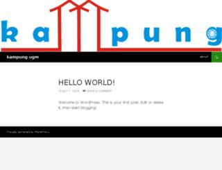 kampung-ugm.com screenshot