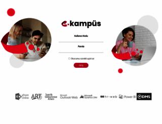 kampus.enocta.com screenshot