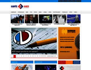 kampushaber.com screenshot