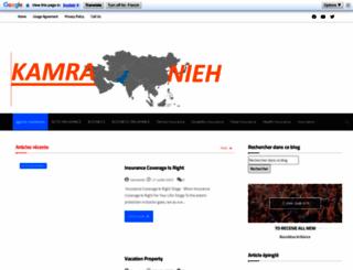 kamranieh.com screenshot