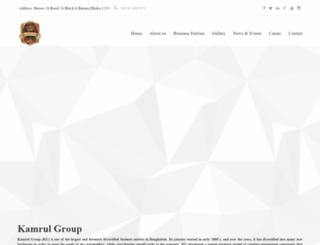kamrulgroup.com screenshot