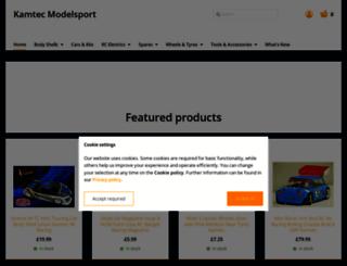 kamtec.co.uk screenshot