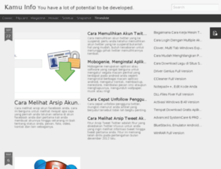 kamu-info.blogspot.com screenshot