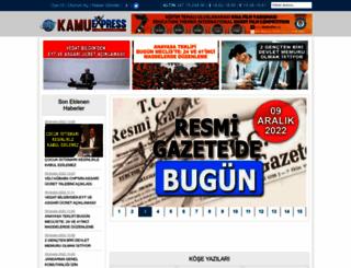 kamuexpress.com screenshot